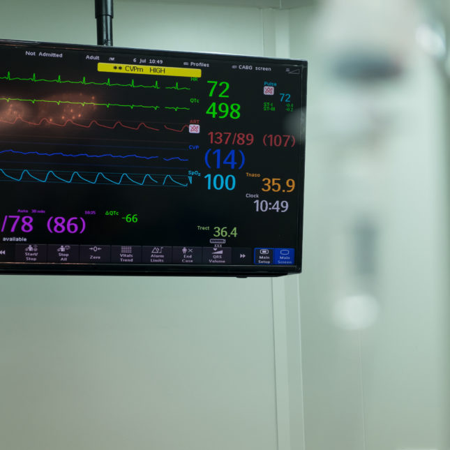 Vital signs and pain killers