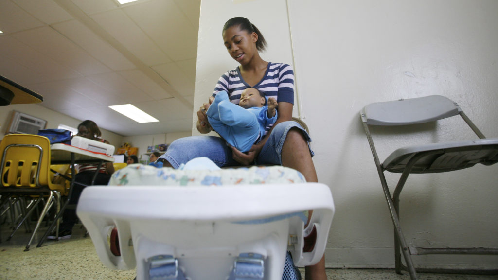 Infant Simulators Designed To Discourage Teen Pregnancy Do The