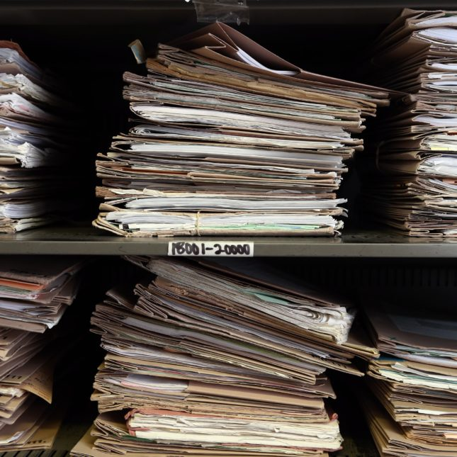 HIPAA patient records