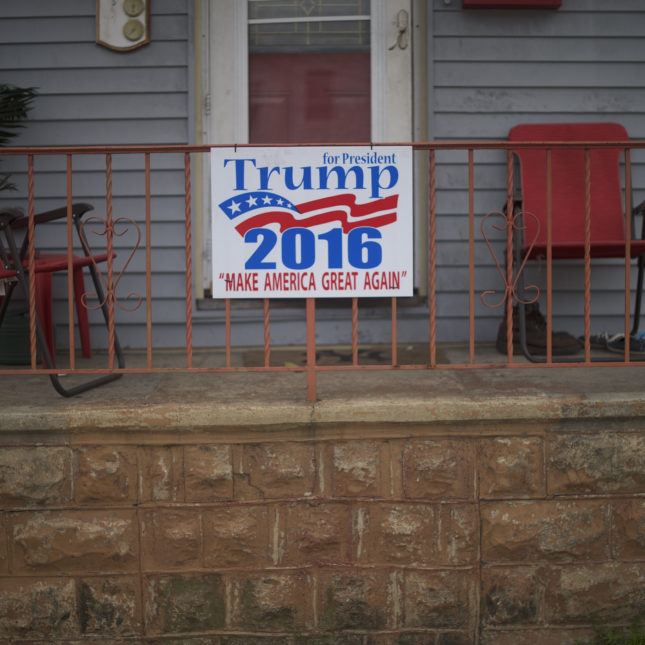 Donald Trump sign