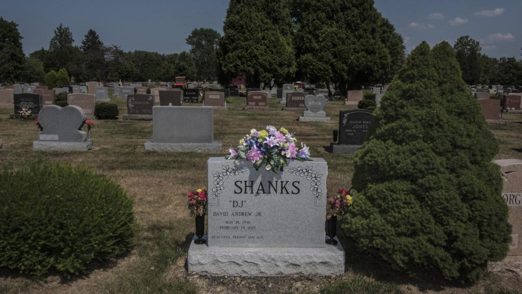 Dope sick: gravesite