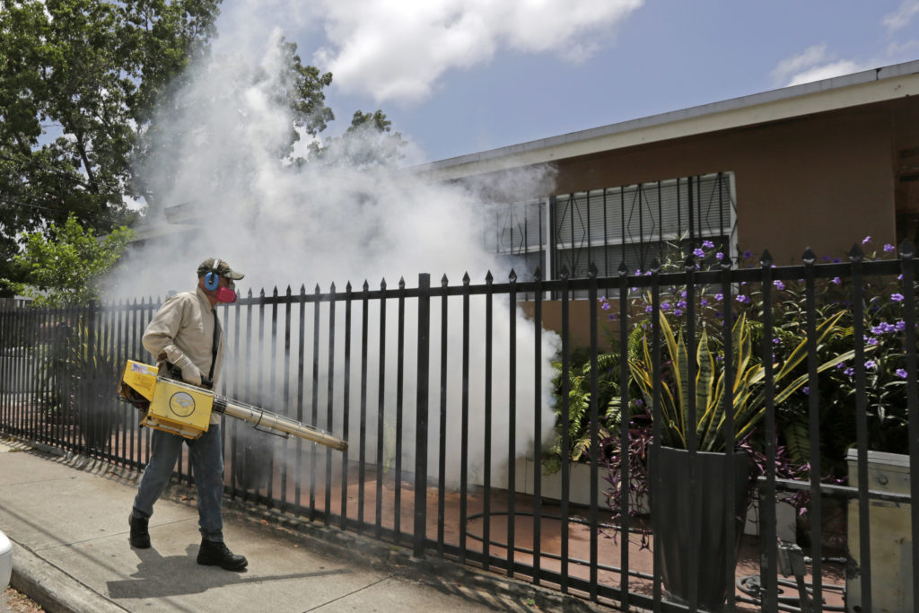 Zika Miami spraying
