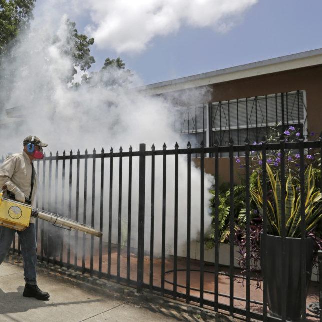 Zika Miami spraying