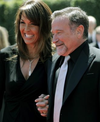 Susan Schneider & Robin Williams