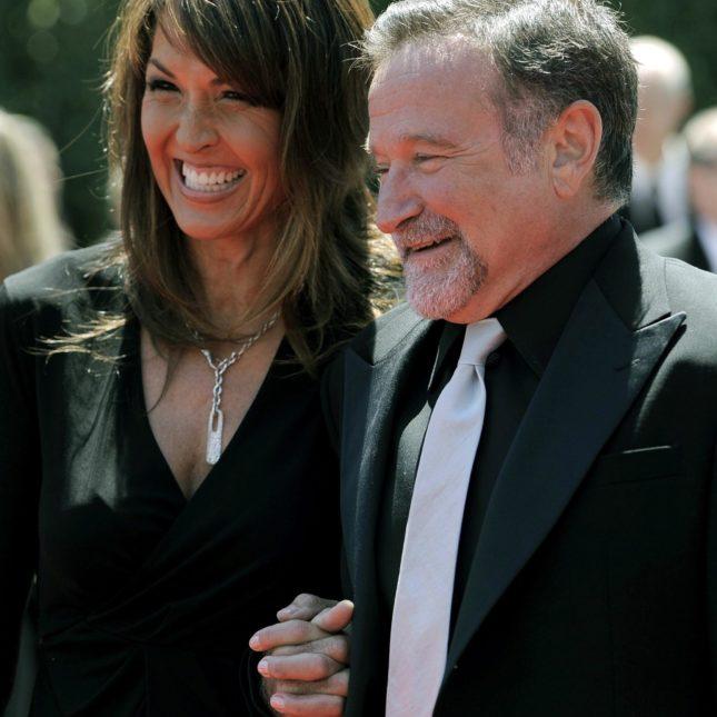 Susan Schneider & Robin Williams