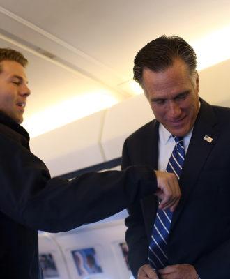 Mitt Romney & Garrett Jackson