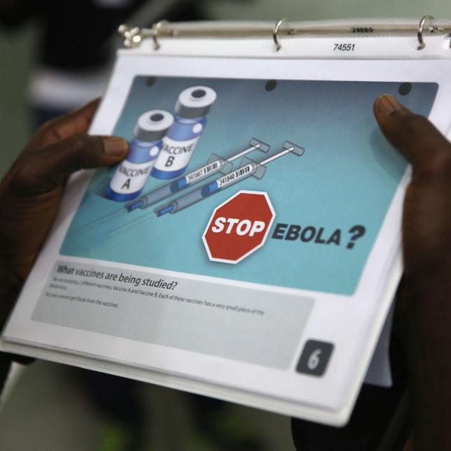 Ebola Vaccine Trials