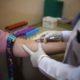 Blood test female patient