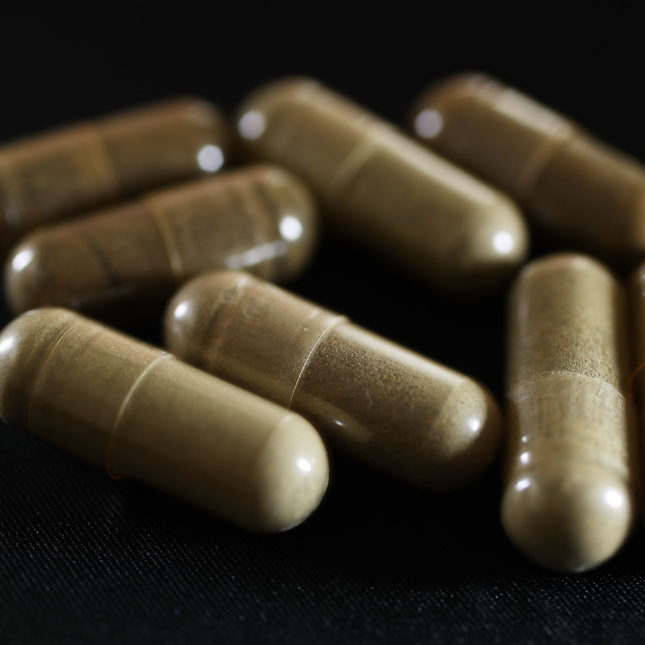 Kratom capsules									Joe Raedle  Getty Images