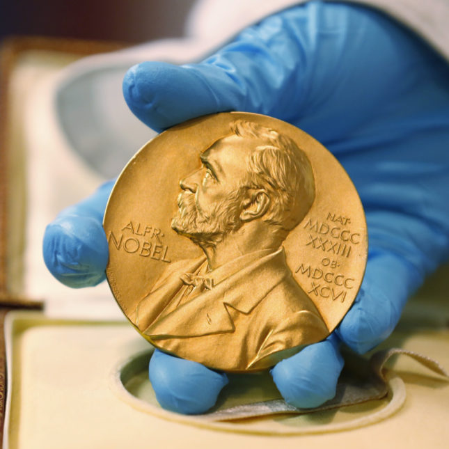 Funded scientist wins Nobel Prize in medicine