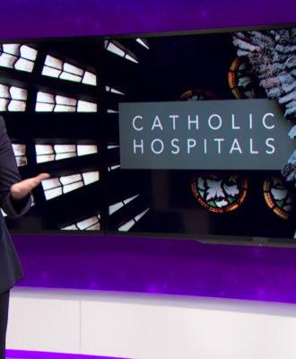 Samantha Bee: Catholic hospitals
