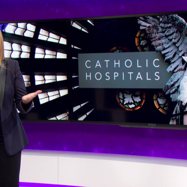 Samantha Bee: Catholic hospitals