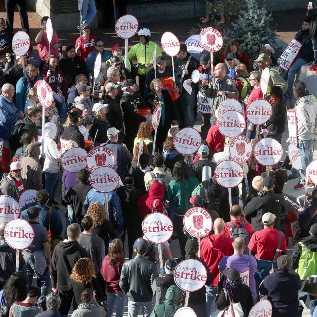 Harvard Strike