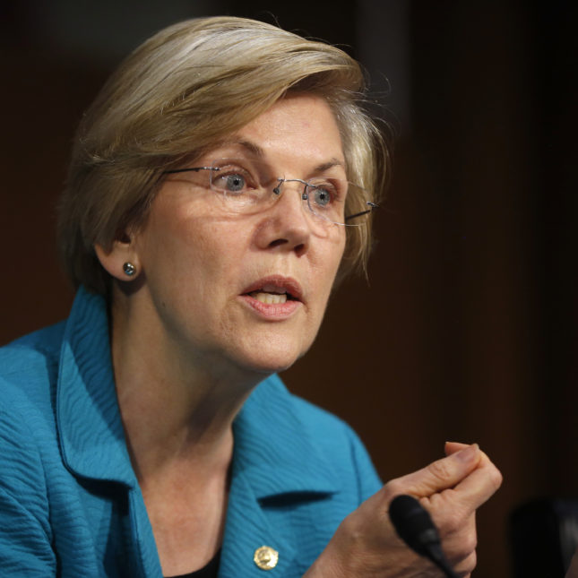 Elizabeth Warren criticizes feds for a 'shamefully weak