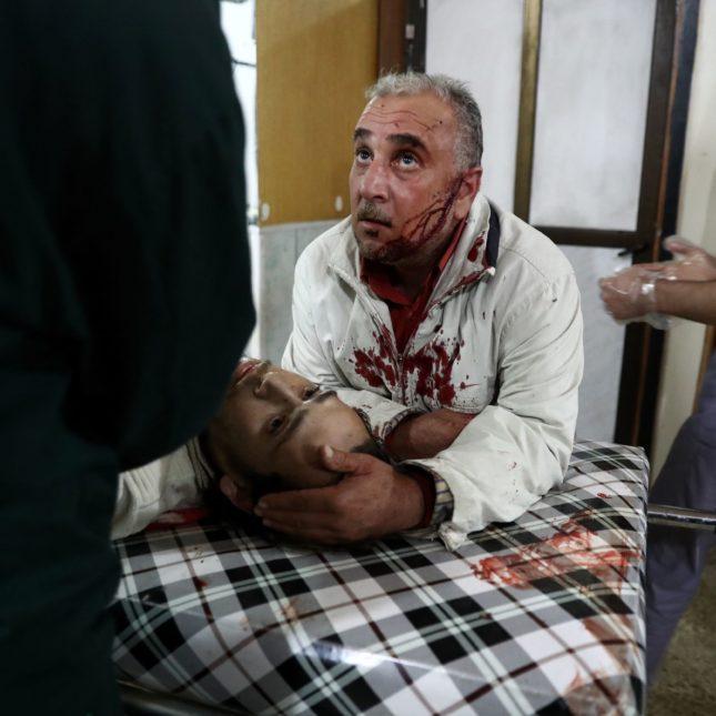 Syria hospitals