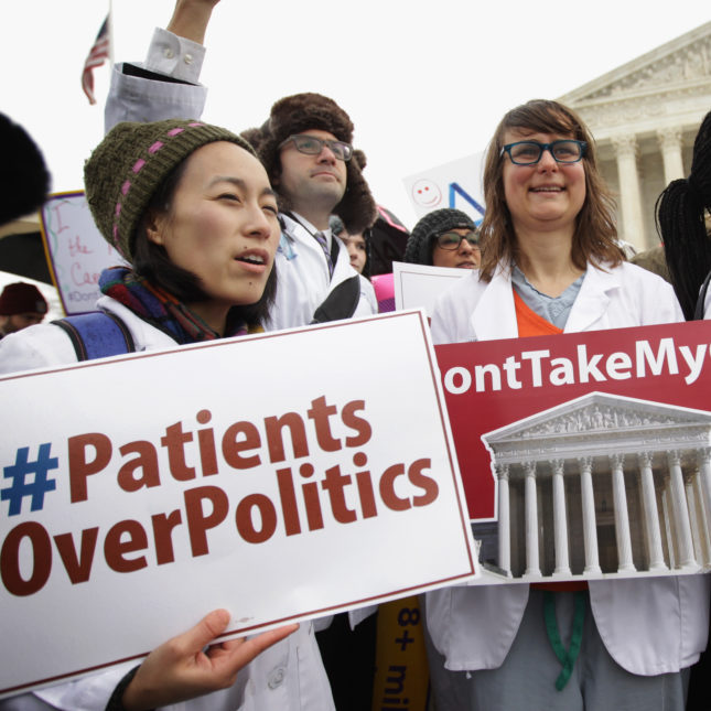 Politics out of Healthcare