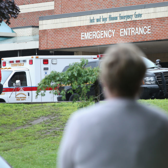 Older American Emergency Room