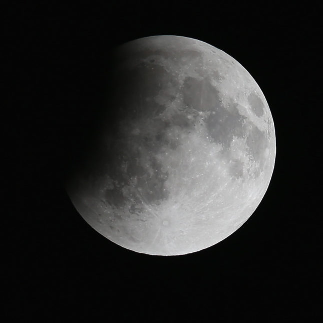 Moonshot eclipse