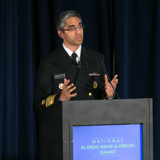 Dr. Vivek Murthy surgeon general