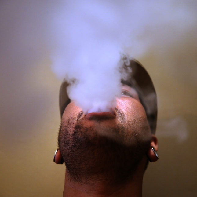 Teens who vape are 10 times more likely to smoke cigarettes