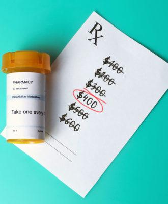 Prescription pricing illustration