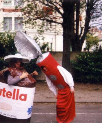 Nutella costume