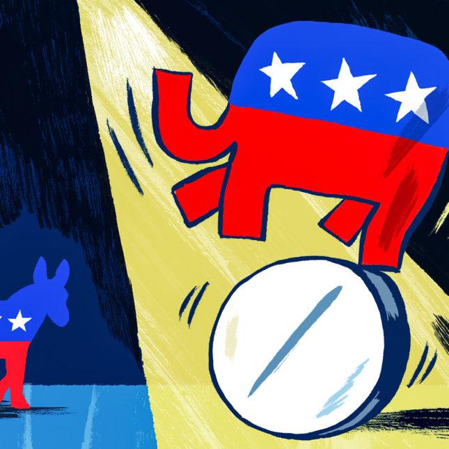 Politics and Pharma illo