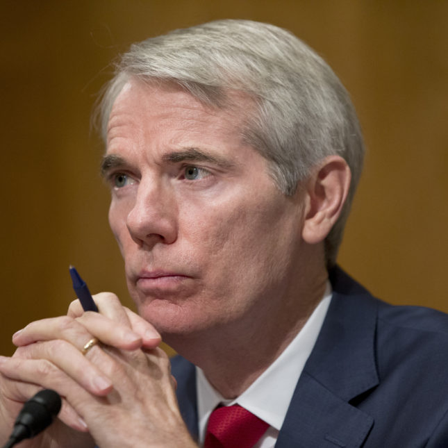 Senator Rob Portman of Ohio has been trying to tackle the opioid epidemic.