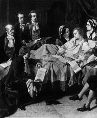 Mozart's final illness