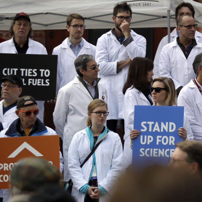 Scientists March