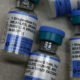 MMR vaccine bottles