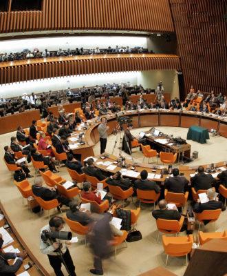 World Health Organization board room