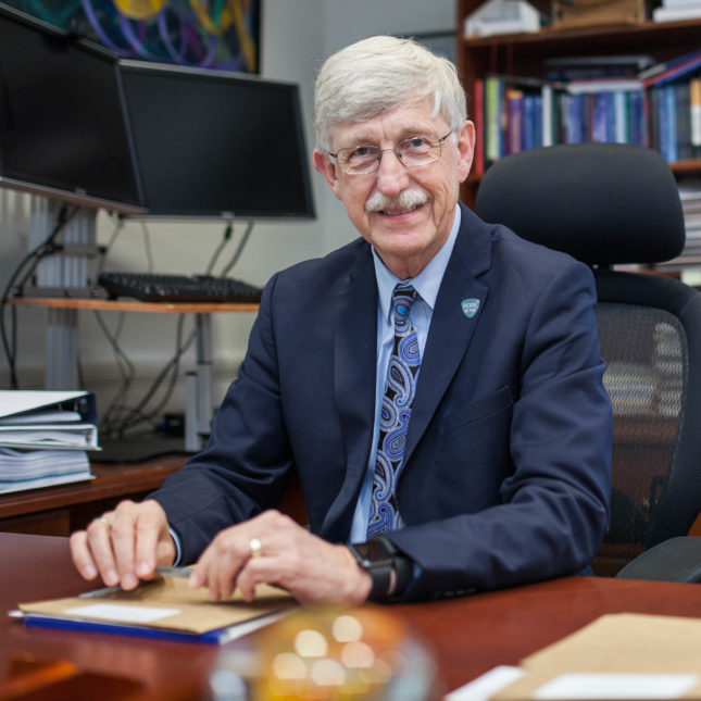 Trump says he's keeping Dr. Francis Collins as NIH director