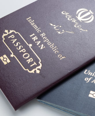 Iran and US passports