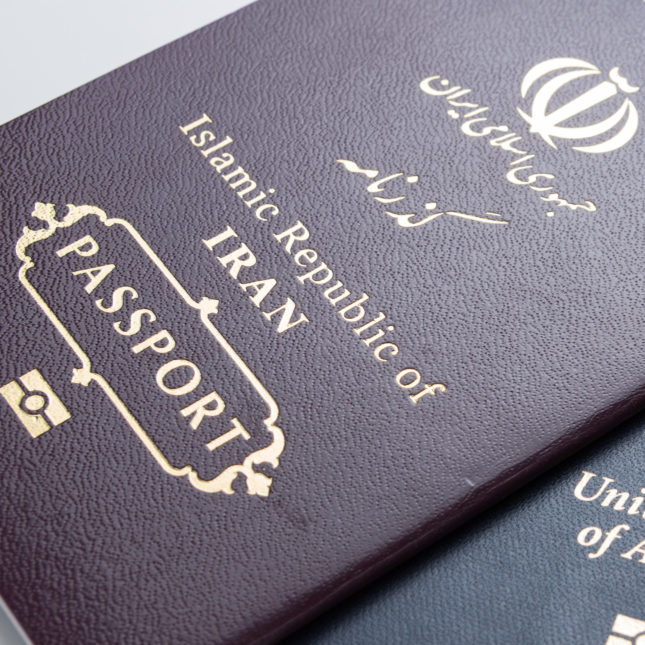Iran and US passports
