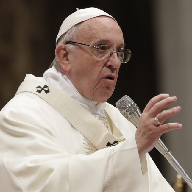 'Make a gesture of humanity': Pope Francis urges drug makers to release Covid-19 vaccine patents