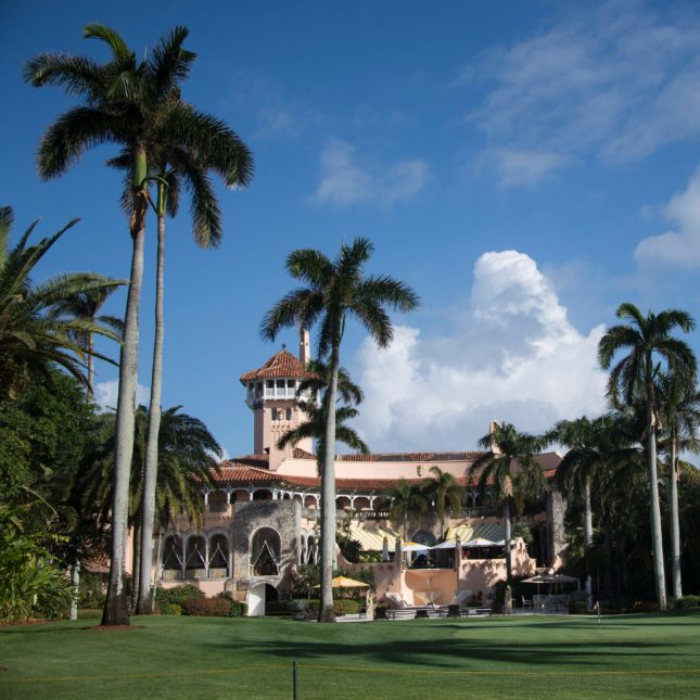 Mar-a-Lago Resort for first opinio