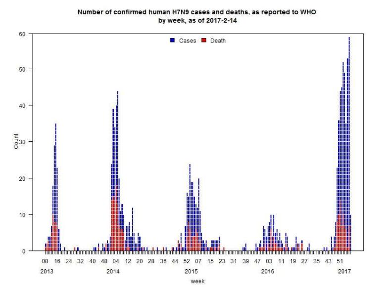 H7N9 cases