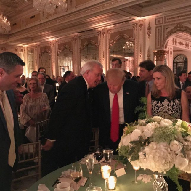 Brian Mulroney Serenades Donald Trump At Fundraising Gala