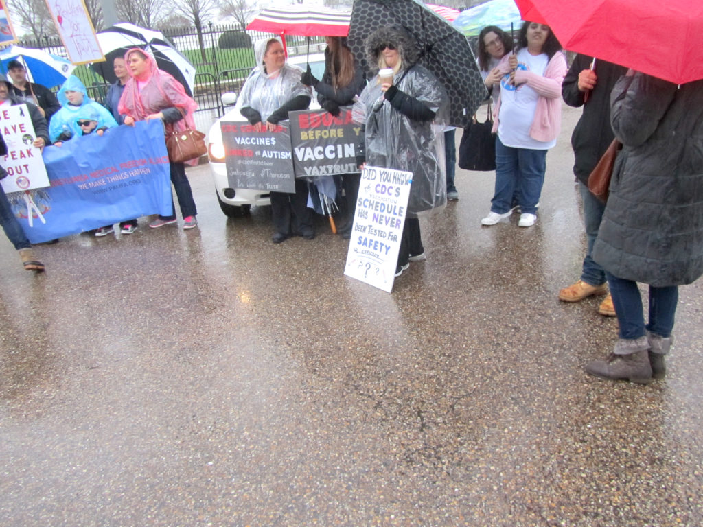 Anti-vaccine march
