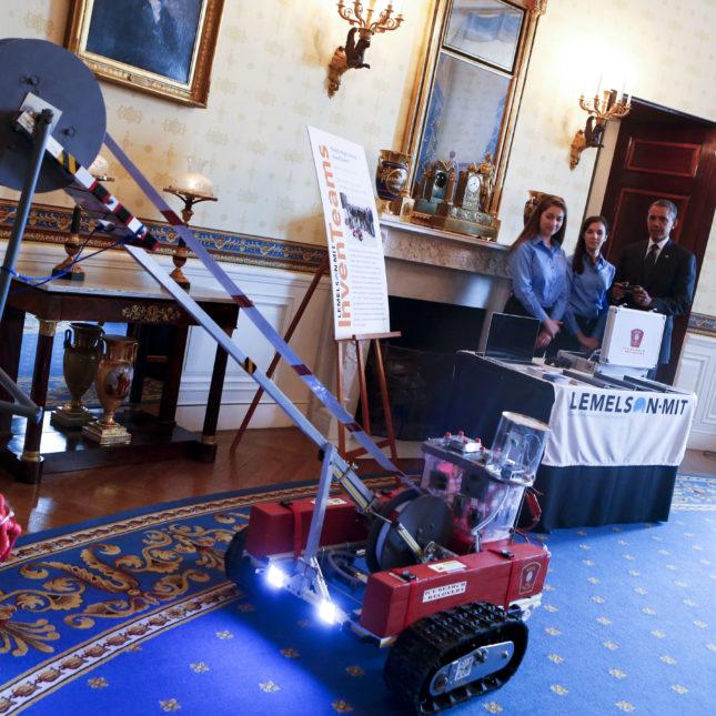 White house sci fair