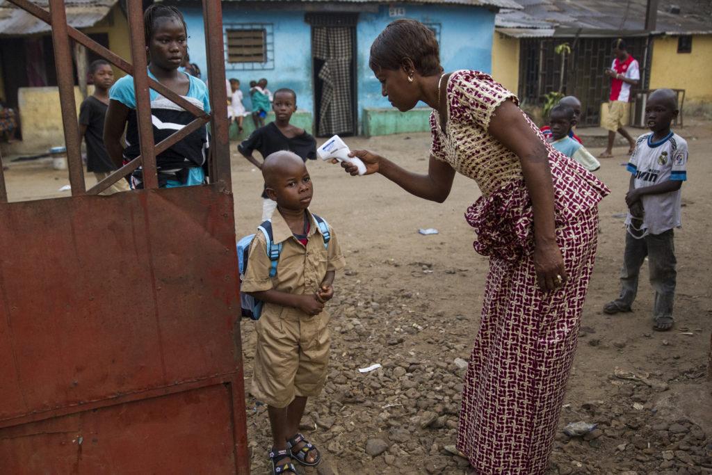 Ebola exhibit