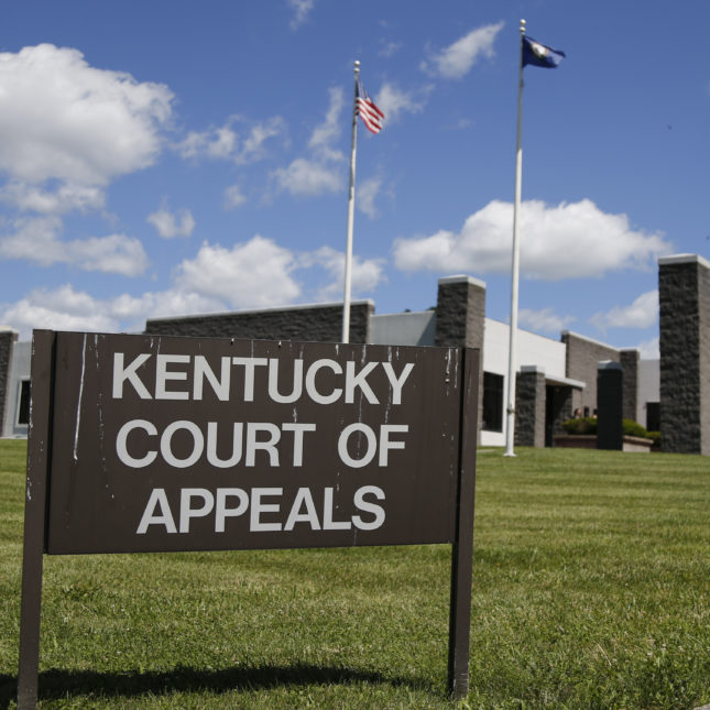 Kentucky Court of Appeals in Frankfort