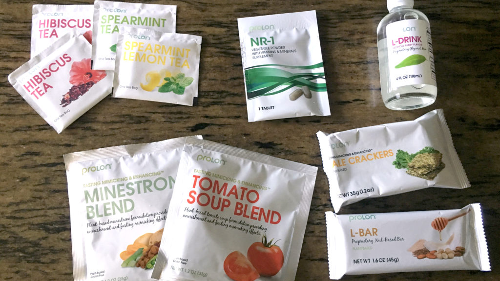 five day starvation diet box