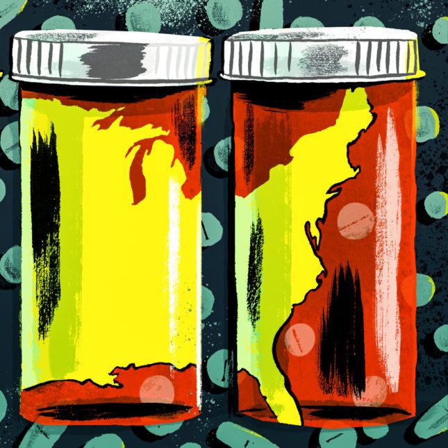 Opioid crisis future illo