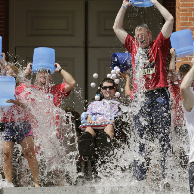 Pete Frates - Ice Bucket Challenge