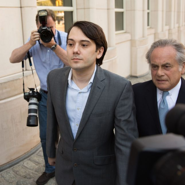 Martin Shkreli Securities Fraud Trial
