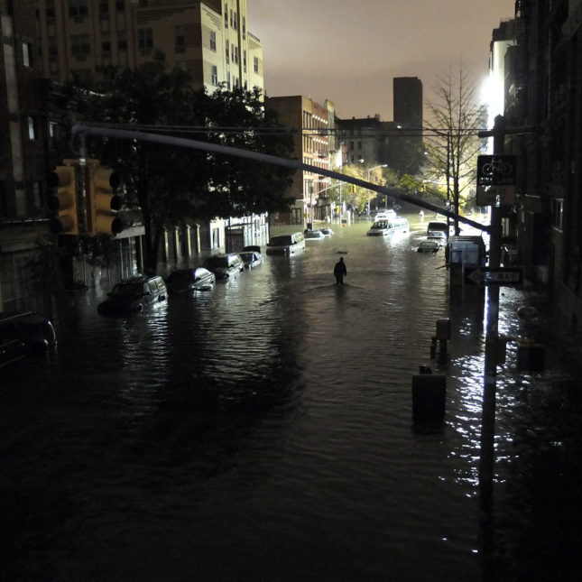 Superstorm Sandy Manhattan