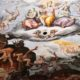 "A portion of the fresco ""Last Judgment"" by"