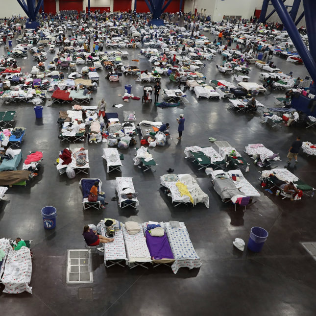 Houston hurricane shelter